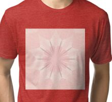 Romantic in pink and grey kaleidoscope Tri-blend T-Shirt