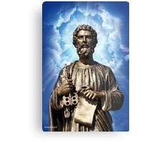 Saint Peter Christianity Religion Heaven Metal Print