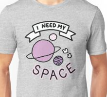Introvert space galaxy awkward teen tumblr snapchat sticker print Unisex T-Shirt