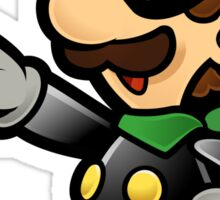 Mr. L - Super Paper Mario Sticker