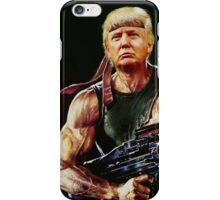Rambo Trump iPhone Case/Skin