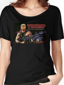Rambo Trump Women's Relaxed Fit T-Shirt