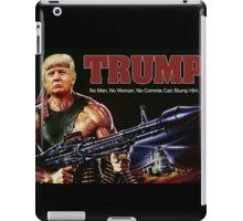 Rambo Trump iPad Case/Skin