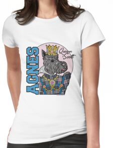 Agnes, Queen of Scott Womens Fitted T-Shirt