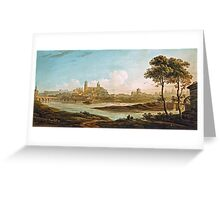 John Varley - City on a River  Greeting Card
