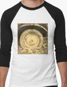 Old Wheel Of Classic Car Men's Baseball ¾ T-Shirt