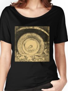 Old Wheel Of Classic Car Women's Relaxed Fit T-Shirt