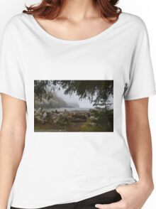 Waikiki Beach, Cape Disappointment State Park, Washington Women's Relaxed Fit T-Shirt