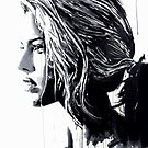white tigerlily by Loui  Jover