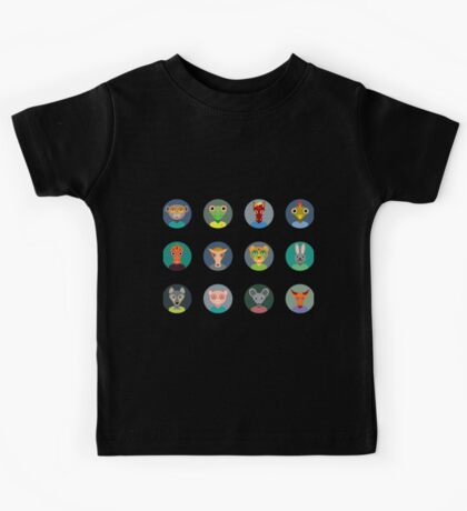 Chinese zodiac collection Kids Tee