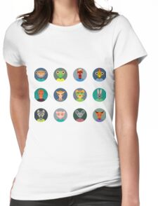 Chinese zodiac collection Womens Fitted T-Shirt
