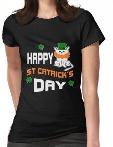 Happy St Catrick's Day  Womens Fitted T-Shirt