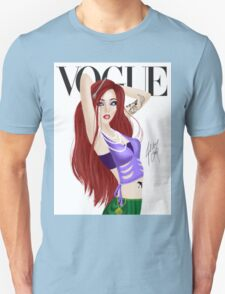 Red Head Princess of the Sea Unisex T-Shirt