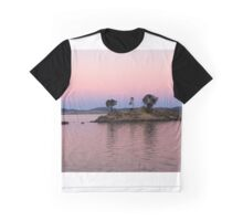 Little Island at sunset Graphic T-Shirt