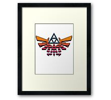 80's Triforce Framed Print