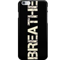 Breathe (Neon Pink) iPhone Case/Skin
