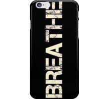Breathe (Neon Pink) iPhone Case/Skin