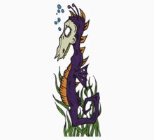 Zombie Seahorse One Piece - Long Sleeve