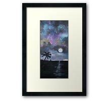Neverland at Night 1 Framed Print