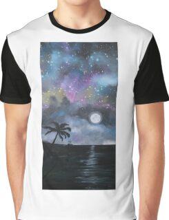 Neverland at Night 1 Graphic T-Shirt