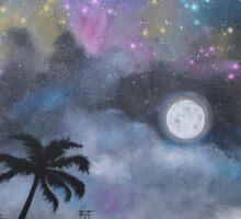 Neverland at Night 1 Sticker