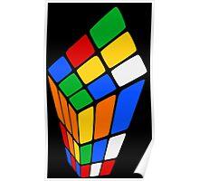 Surreal Rubik's Poster