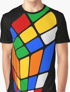 Surreal Rubik's Graphic T-Shirt