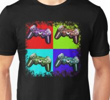 Game Controller Pop Art Unisex T-Shirt