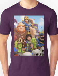Clash Royale Troops Unisex T-Shirt