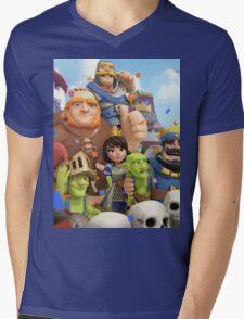 Clash Royale Troops Mens V-Neck T-Shirt