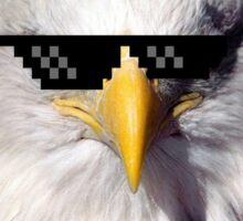USA Deal With It Eagle Sticker