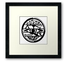 fandoms before blood and family Framed Print