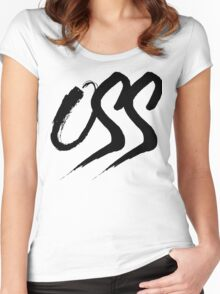 Oss - Brush script Women's Fitted Scoop T-Shirt