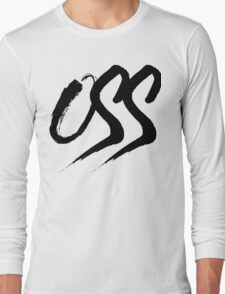 Oss - Brush script Long Sleeve T-Shirt