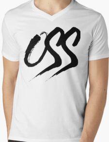 Oss - Brush script Mens V-Neck T-Shirt