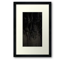 Black Soul Framed Print