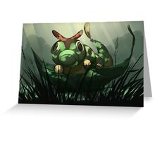 Viridian Forest Greeting Card