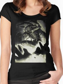 CTHULHU-RISE Women's Fitted Scoop T-Shirt