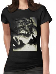 CTHULHU-RISE Womens Fitted T-Shirt