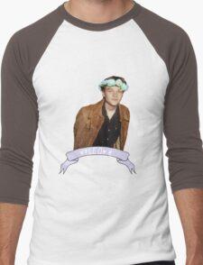 Leo and Flowers Men's Baseball ¾ T-Shirt