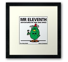 MR. ELEVENTH Framed Print