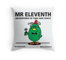 MR. ELEVENTH Throw Pillow