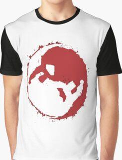 superman and batman yin yang Graphic T-Shirt
