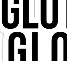 No Glutes No Glory Sticker