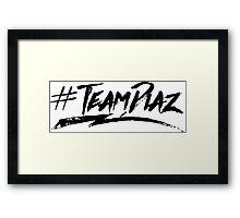 #TeamDiaz Framed Print