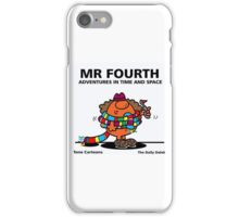 MR. FOURTH iPhone Case/Skin