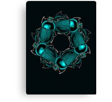 EGYPTIAN SCARAB Canvas Print