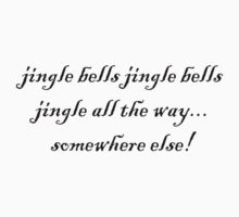 jingle bells jingle bells Baby Tee
