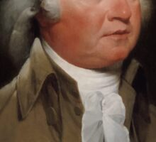 President John Adams Sticker