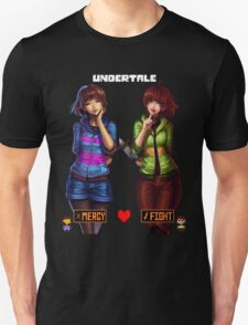 Undertale Mercy or Fight Unisex T-Shirt